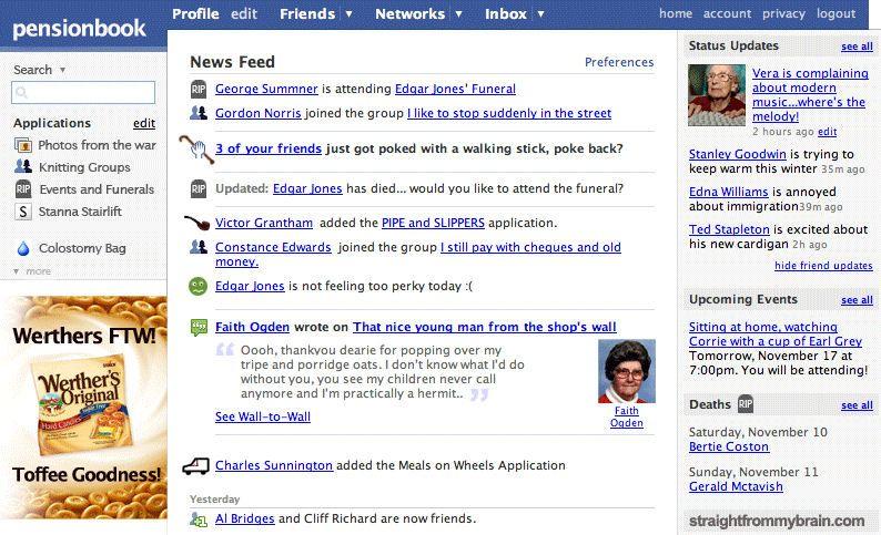 Facebook in 50 years