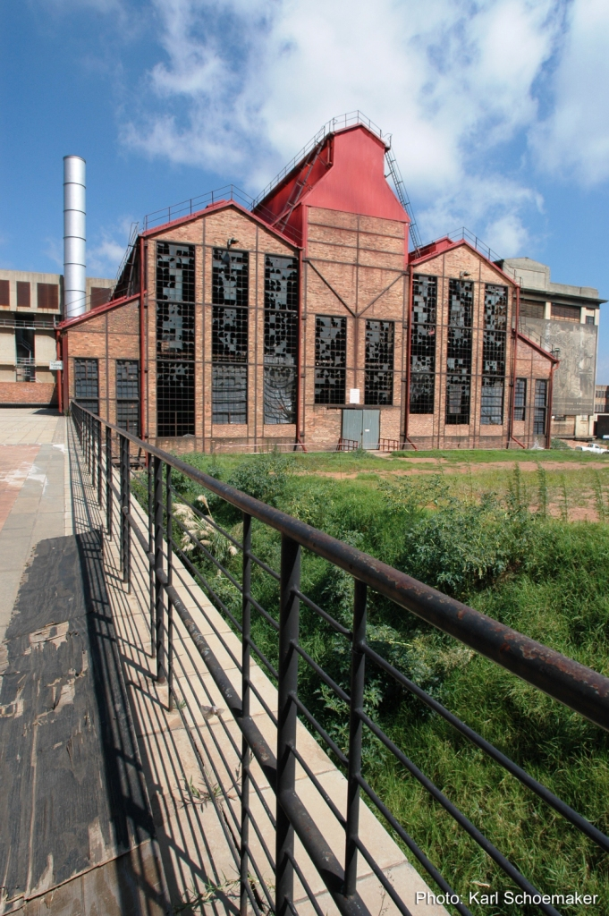 The Turbine Hall, Newtown, Johannesburg, photographed in March 2005