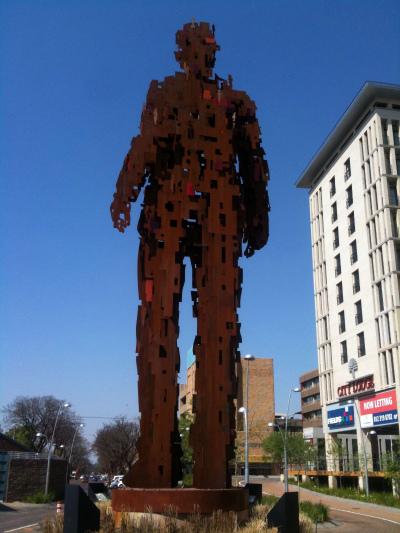 Marco Cianfanelli's Urban Man