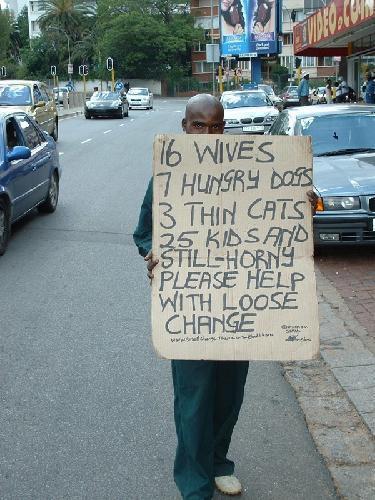 Joburg beggar