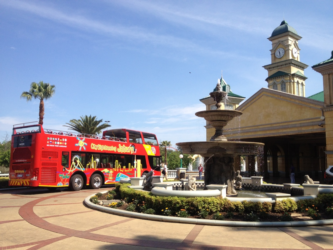City Sightseeing Hop-on Hop-off Bus launches in Johannesburg