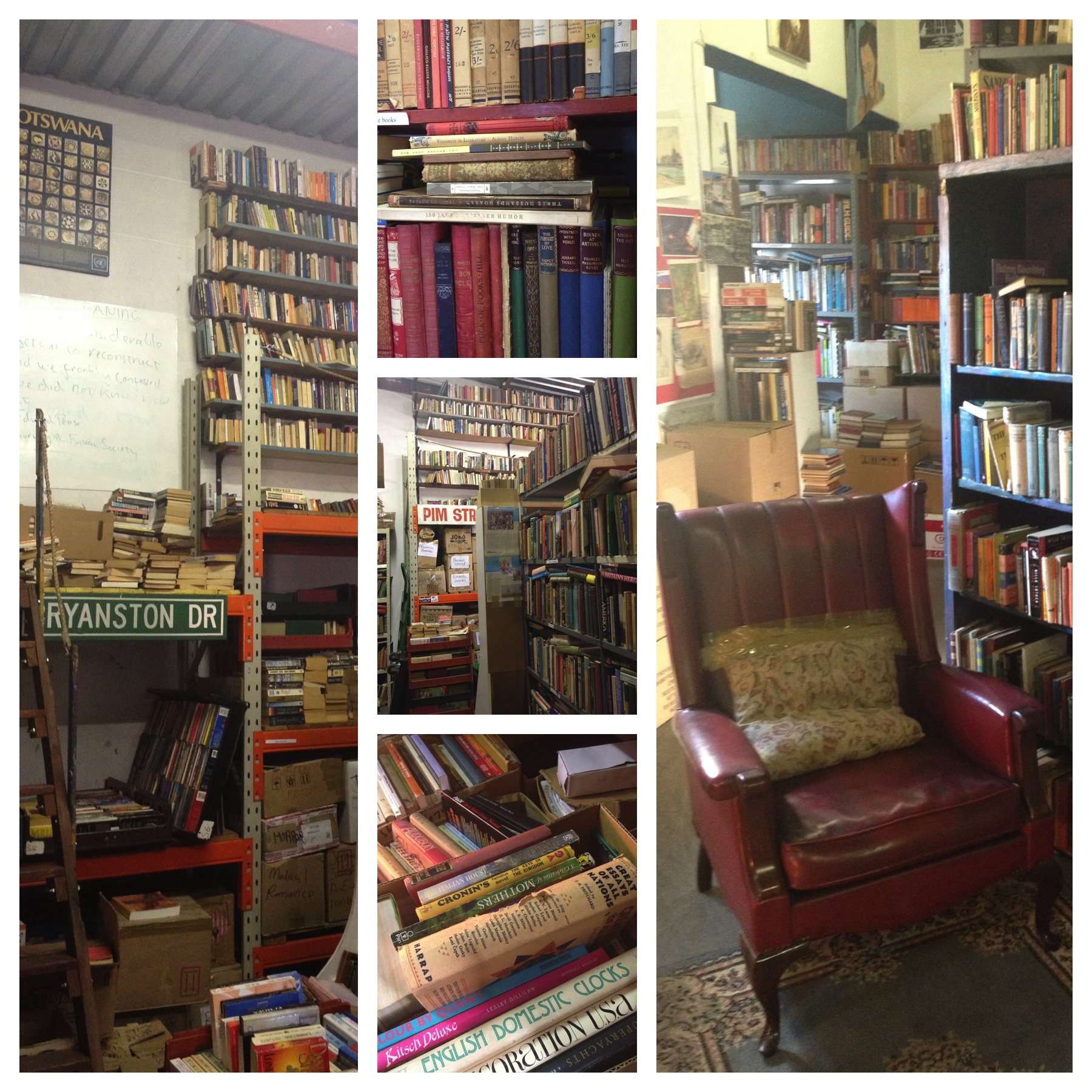 The interior of Orange Grove's Kalahari Books