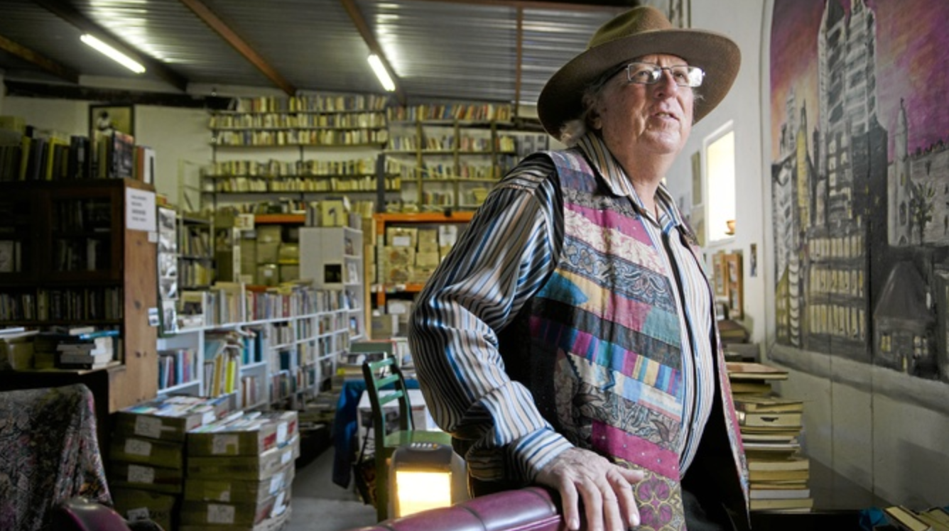 Founder and owner of Kalahari Books, Richard Welch. Photograph by Mail&Guardian
