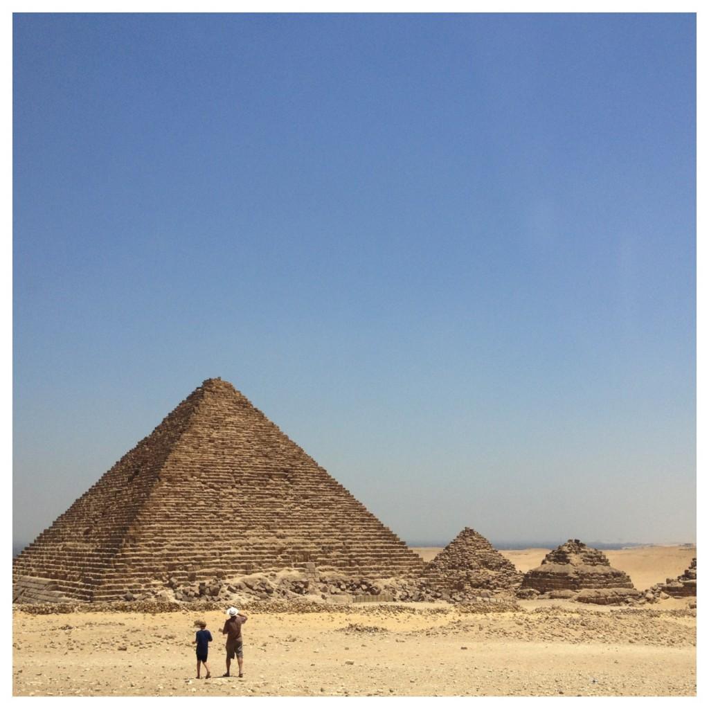 The incredible pyramids at Giza