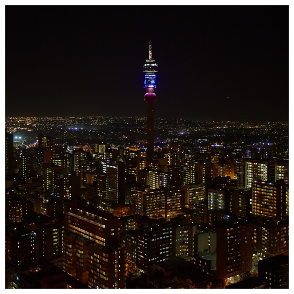 pièce de résistance - the view of Hillbrow from Ponte by Jono Wood