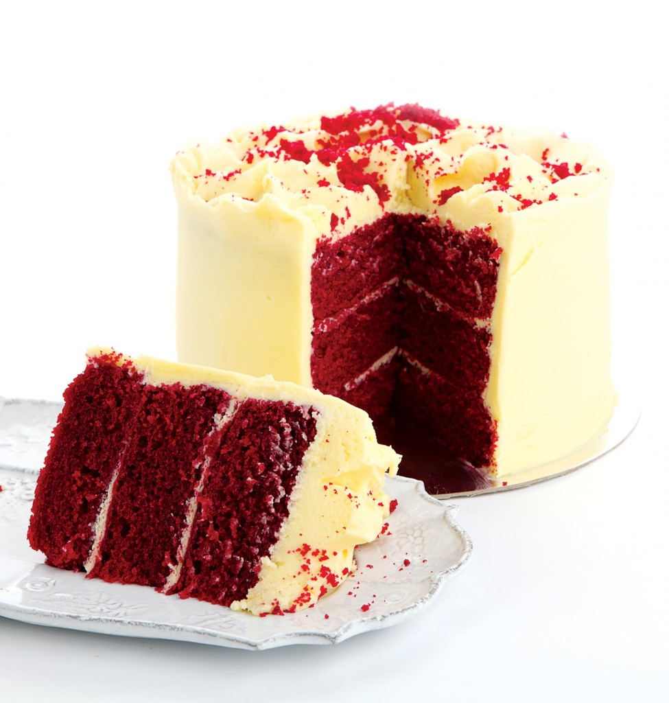 Belle's Patisserie Red Velvet Cake