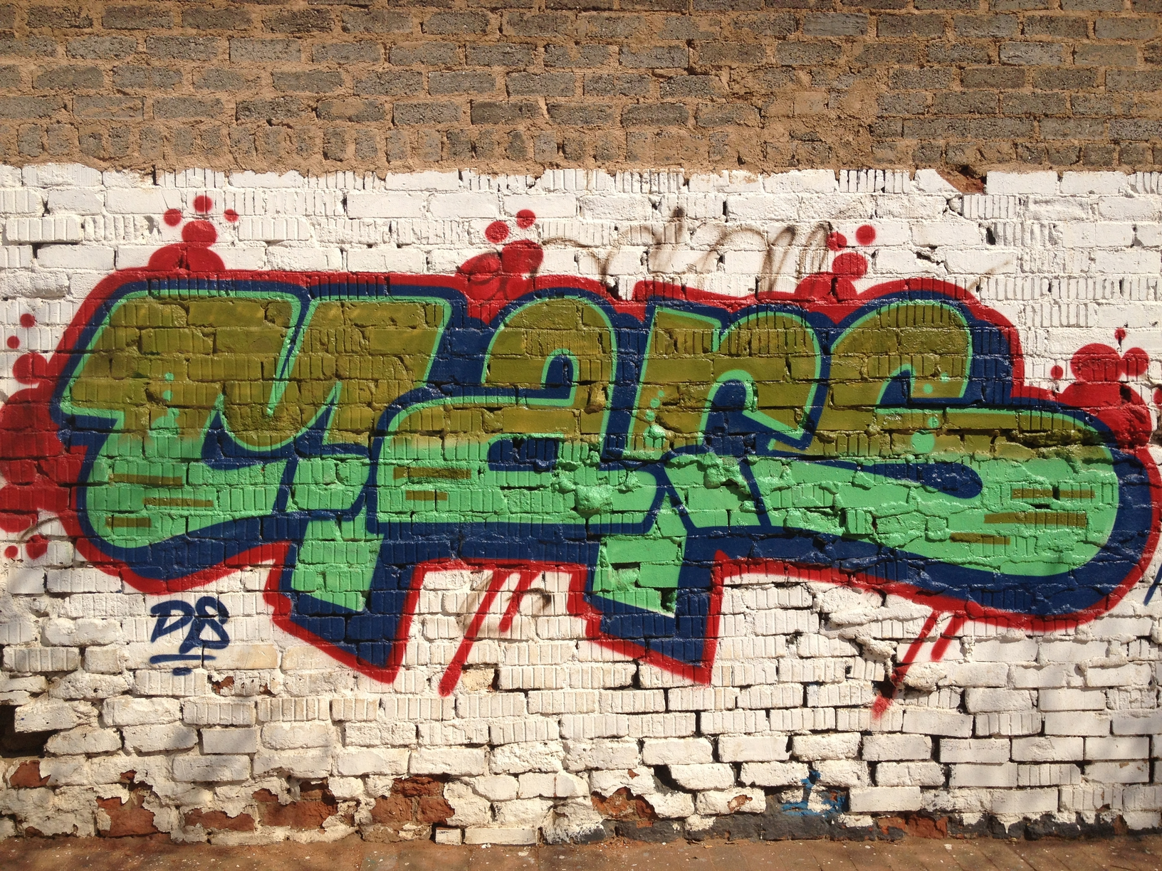 Mars is a joburg icon drive around newtown fordsburg and along barry hertzog ave and youll see his telltale signs the 25 year old graffiti artist has