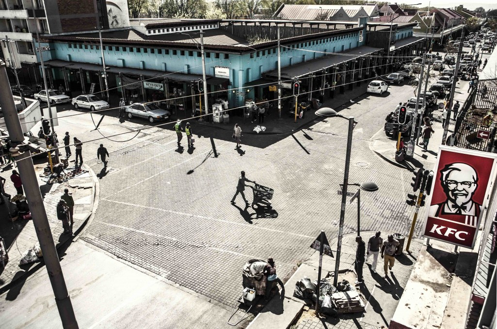 Yeoville Market in Inside Out © Mark Lewis